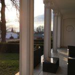 Terrasse in der Abendsonne