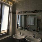 Badezimmer mit Sichtschutzfolie