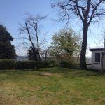 Grundstück der Villa